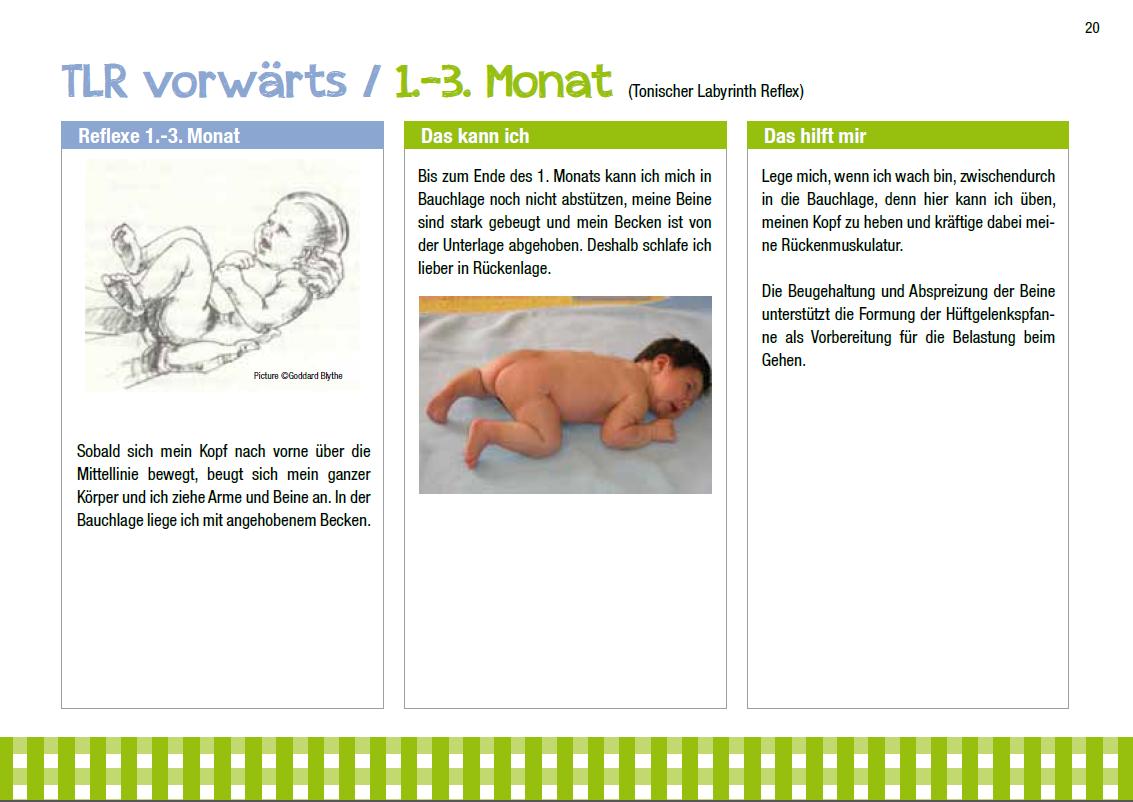 Physiotherapie Daniela Rota für Erwachsene und Kinder sowie Entwicklungsförderung, Beispielseite