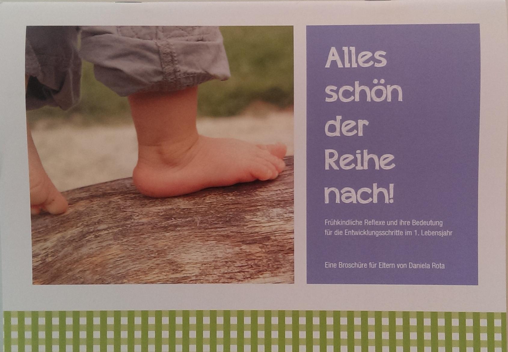Physiotherapie Daniela Rota für Erwachsene und Kinder sowie Entwicklungsförderung, Titelbild